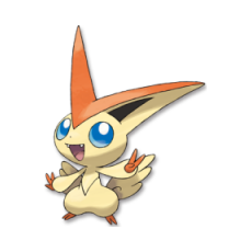 Carte Victini Pokedex