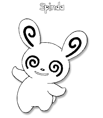 Coloriage de Spinda