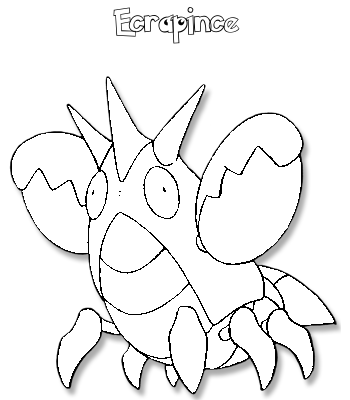 Coloriage de Ecrapince