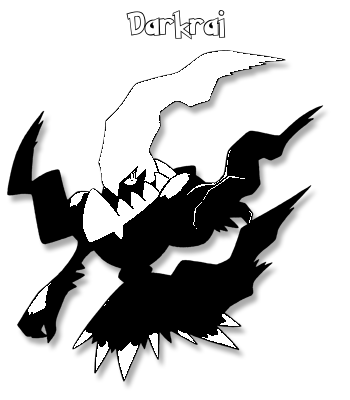 Coloriage de Darkrai