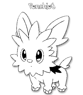 Coloriage de Ponchiot