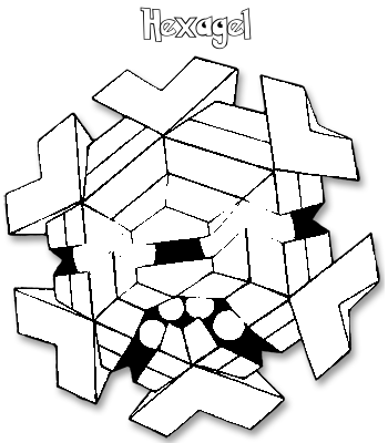 Coloriage de Hexagel